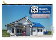 Route 66 Odell Il Gas Station Signage 01 Carry-all Pouch