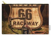 Route 66 Raceway Carry-all Pouch