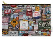 Route 66 Signs Carry-all Pouch