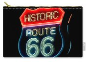 Route 66 Carry-all Pouch by Theodore Clutter