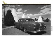 Route 66 Wigwam Motel And Classic Car 5 Carry-all Pouch