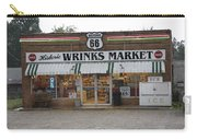 Route 66 - Wrink's Market Carry-all Pouch