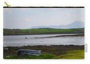 Row Boat At Low Tide - County Mayo Ireland Carry-all Pouch