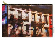 Row Houses - Old Buildings And Architecture Of New York City Carry-all Pouch