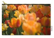 Row Of Colorful Tulips Carry-all Pouch