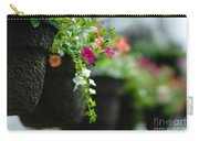 Row Of Hanging Baskets Shallow Dof Carry-all Pouch