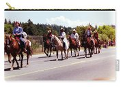 Row Of Horses Carry-all Pouch