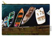 Row Of Rowboats  Carry-all Pouch