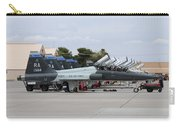 Row Of T-38c Trainer Jets At Nellis Air Carry-all Pouch