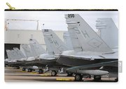 Row Of U.s. Marine Corps Fa-18 Hornet Carry-all Pouch