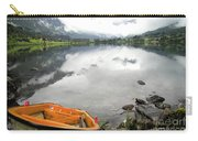 Row Your Boat To The Briksdalsbreen Glacier Carry-all Pouch