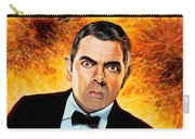 Rowan Atkinson Alias Johnny English Carry-all Pouch