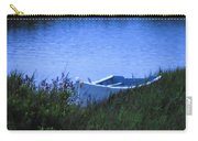 Rowboat In Grass Carry-all Pouch