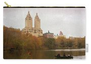 Rowers In Central Park Carry-all Pouch