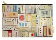 Rowhouses Triptych Carry-all Pouch