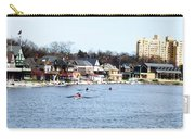 Rowing At Boathouse Row Carry-all Pouch