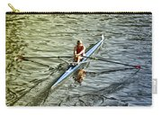 Rowing Crew Carry-all Pouch by Bill Cannon