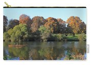 Rowing On The River Thames At Hampton Court London Carry-all Pouch