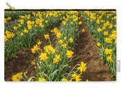 Rows Of Daffodils Carry-all Pouch