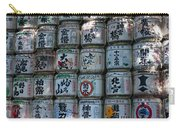 Rows Of Sake Barrels Carry-all Pouch