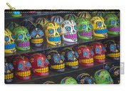 Rows Of Skulls Carry-all Pouch