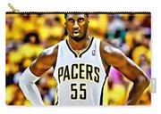 Roy Hibbert Carry-all Pouch by Florian Rodarte