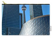 Roy Thomson Hall And Cn Tower Carry-all Pouch