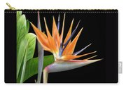 Royal Beauty I - Bird Of Paradise Carry-all Pouch by Ben and Raisa Gertsberg