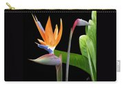 Royal Beauty II - Bird Of Paradise Carry-all Pouch by Ben and Raisa Gertsberg