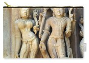 Royal Couple In Stone Carry-all Pouch