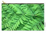 Royal Fern  Frond Detail Carry-all Pouch
