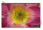 Royal Heritage Daylily Face Carry-all Pouch