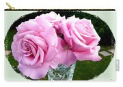 Royal Kate Roses Carry-all Pouch by Will Borden