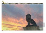 Royal Loin Statue Carry-all Pouch