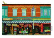Royal Oaks British Pub Hillarys And Pc Perfect Glebe Central Paintings Of Ottawa Scenes C Spandau Carry-all Pouch