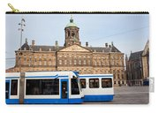 Royal Palace And Trams In Amsterdam Carry-all Pouch