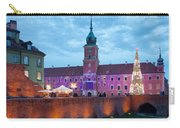 Royal Palace In The Old Town Of Warsaw Carry-all Pouch
