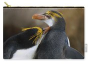 Royal Penguin Couple Courting Carry-all Pouch