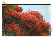 Royal Poinciana Branch Carry-all Pouch