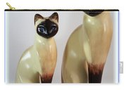 Royal Siamese - Ceramic Cats Carry-all Pouch