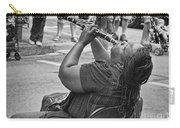 Royal Street Clarinet Player New Orleans Carry-all Pouch
