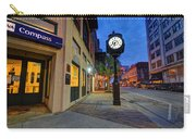 Royal Street Clock Carry-all Pouch