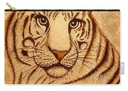 Royal Tiger Coffee Painting Carry-all Pouch