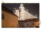 Royal Wawel Castle By Night In Krakow Carry-all Pouch