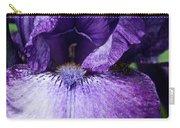 Royale Purple Petals Carry-all Pouch