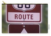 Rt 66 Signage Carry-all Pouch