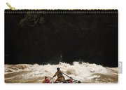 Rubber Raft Running Rapids Carry-all Pouch