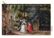 Rubens In His Garden With Helena Fourment Carry-all Pouch