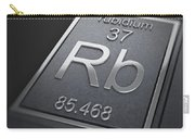 Rubidium Chemical Element Carry-all Pouch