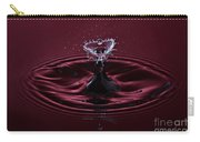 Rubies And Diamonds Carry-all Pouch by Susan Candelario